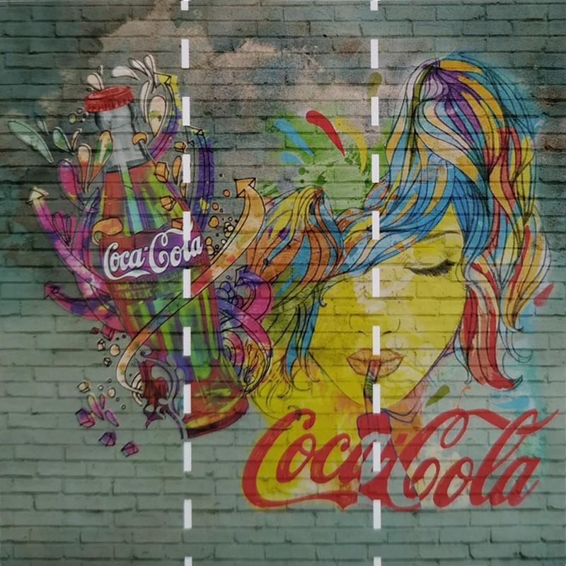 Mural decorativo Saint Honoré Coca-Cola 192-Z41273