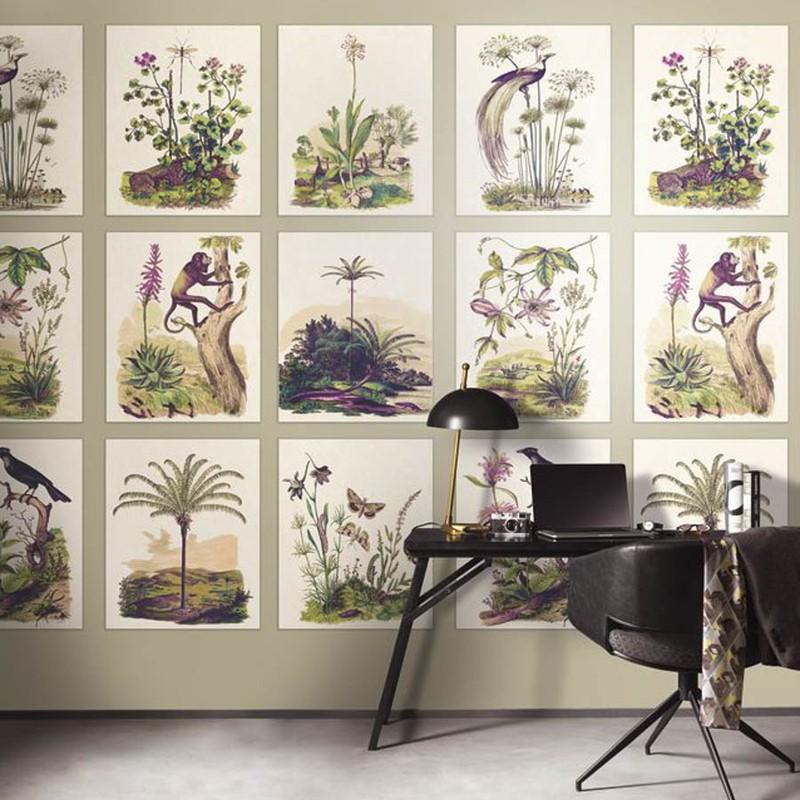 Mural Casadeco Encyclopedia Herbarium ENCY83341466