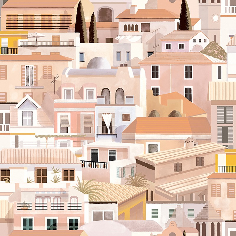 Papel pintado Coordonné Mallorca Valldemosa 8400051