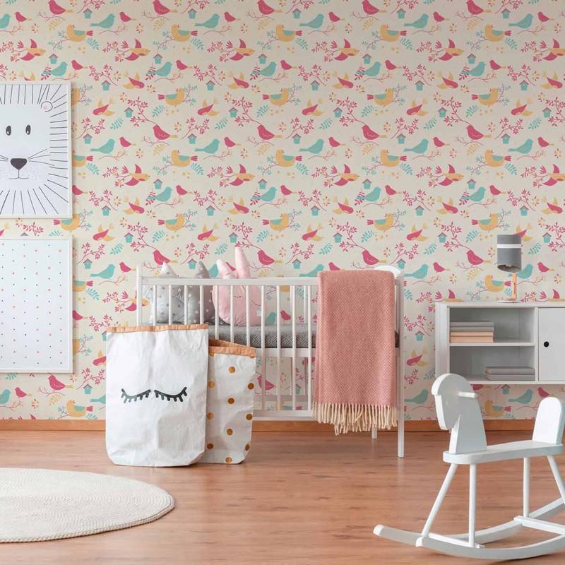 Papel pintado infantil As Creation Boys & Girls 6 36756-2