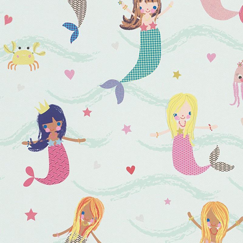 Papel pintado infantil As Creation Boys & Girls 6 30569-1