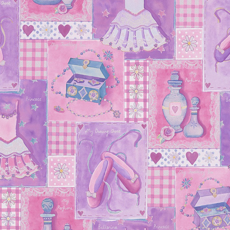Papel pintado infantil As Creation Boys & Girls 6 30597-1