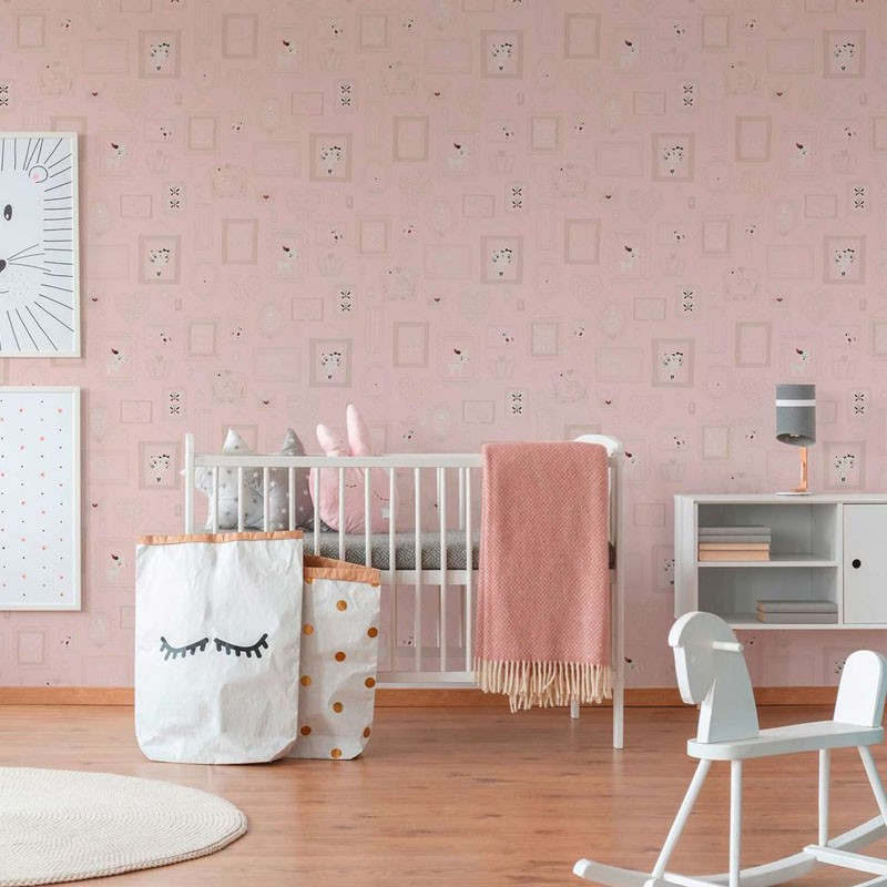 Papel pintado infantil As Creation Boys & Girls 6 36991-2