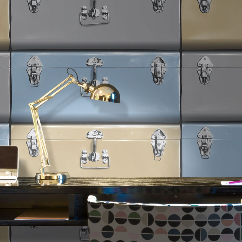 Papel pintado ICH Dans Lemur New Age Suitcases 5005-3