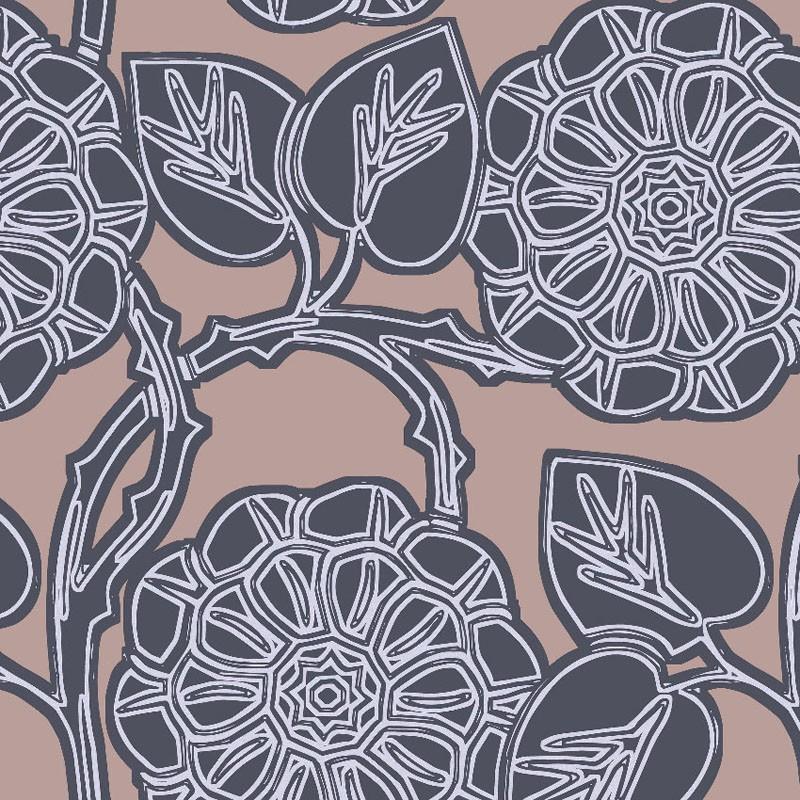 Papel pintado Hookedonwalls Nomadia Aster 38501