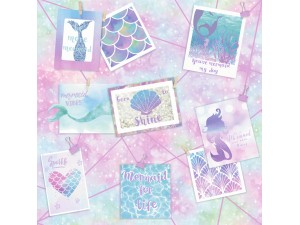 Papel pintado infantil  Holden Over the Rainbow Be More Mermaid 12790