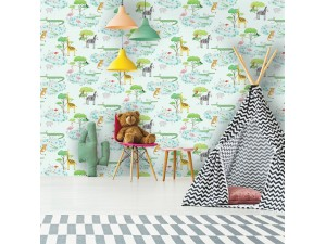 Papel pintado infantil  Holden Over the Rainbow 90932