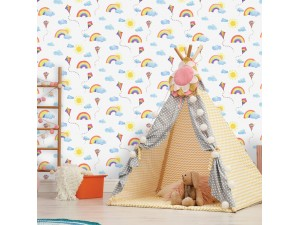 Papel pintado infantil  Holden Over the Rainbow 91020