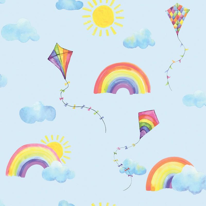 Papel pintado infantil  Holden Over the Rainbow 91022