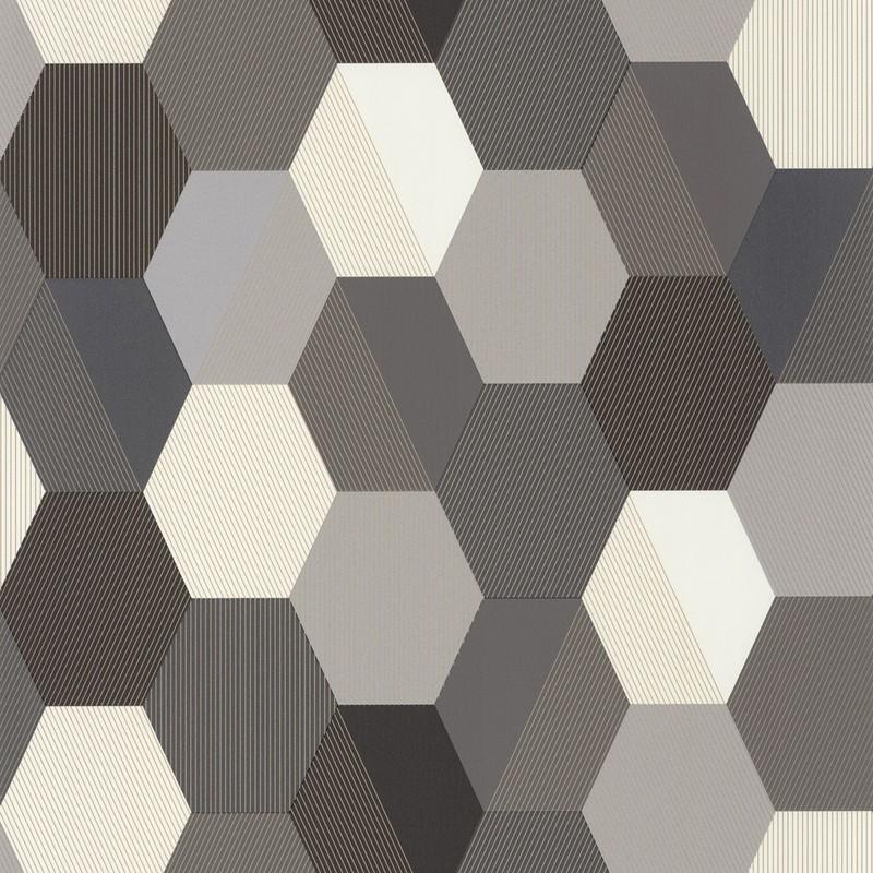 Papel pintado Caselio Moonlight Hexagone MLG100109023
