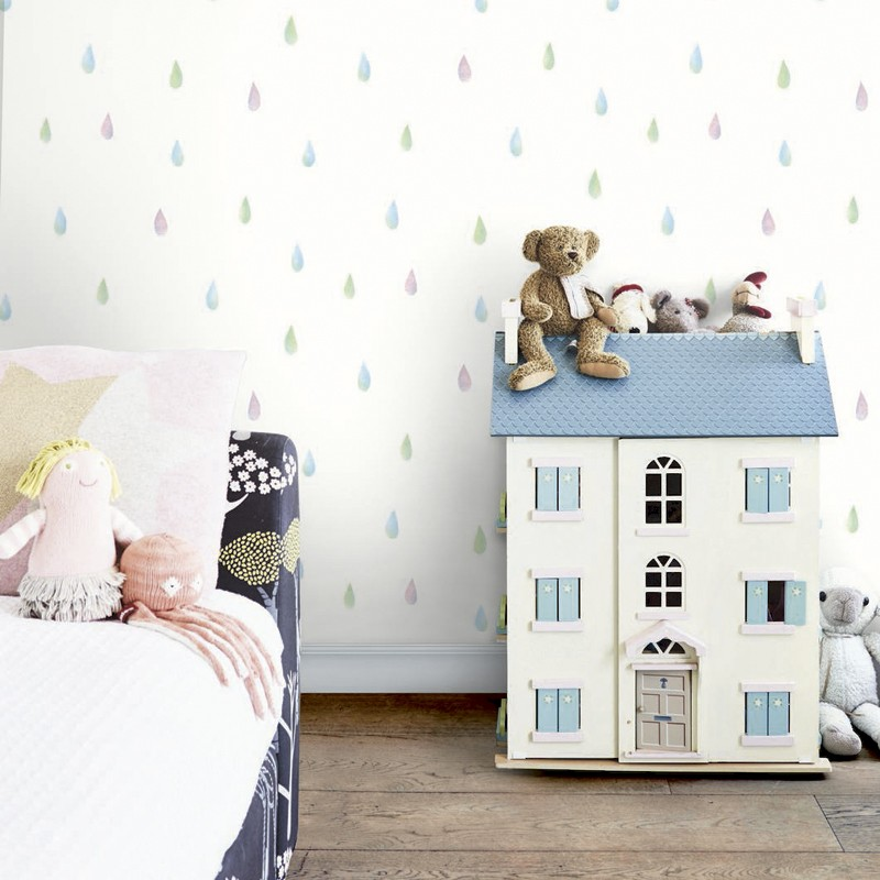 Papel pintado infantil Wallquest Day Dreamers DA60002