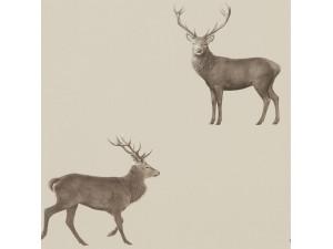 Papel pintado Sanderson Elysian Evesham Deer 216618