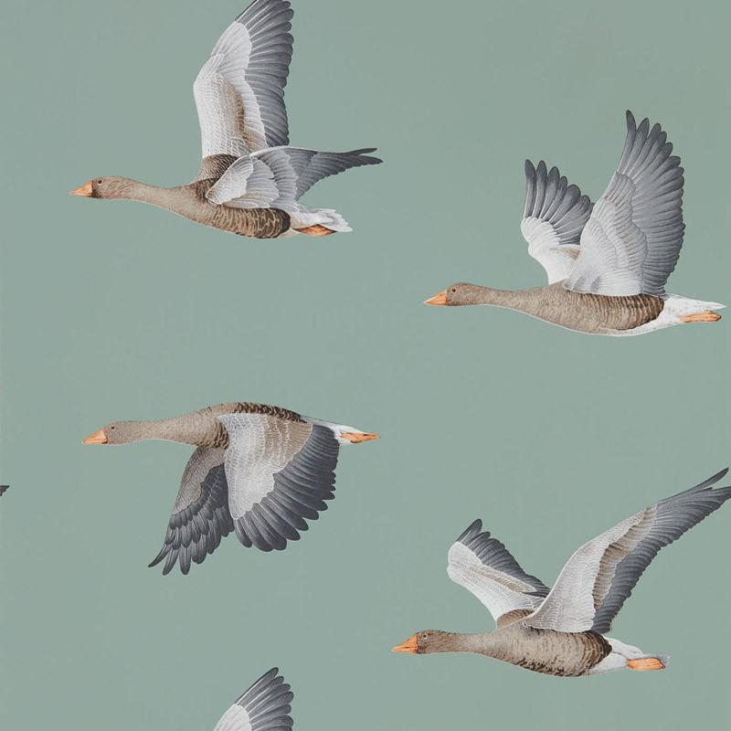 Papel pintado Sanderson Elysian Geese 216610