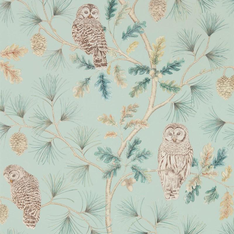 Papel pintado Sanderson Elysian Owlswick 216596