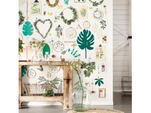 Mural Caselio Sunny Day La Vie en Green by Marie Claire Idées SNY100294537