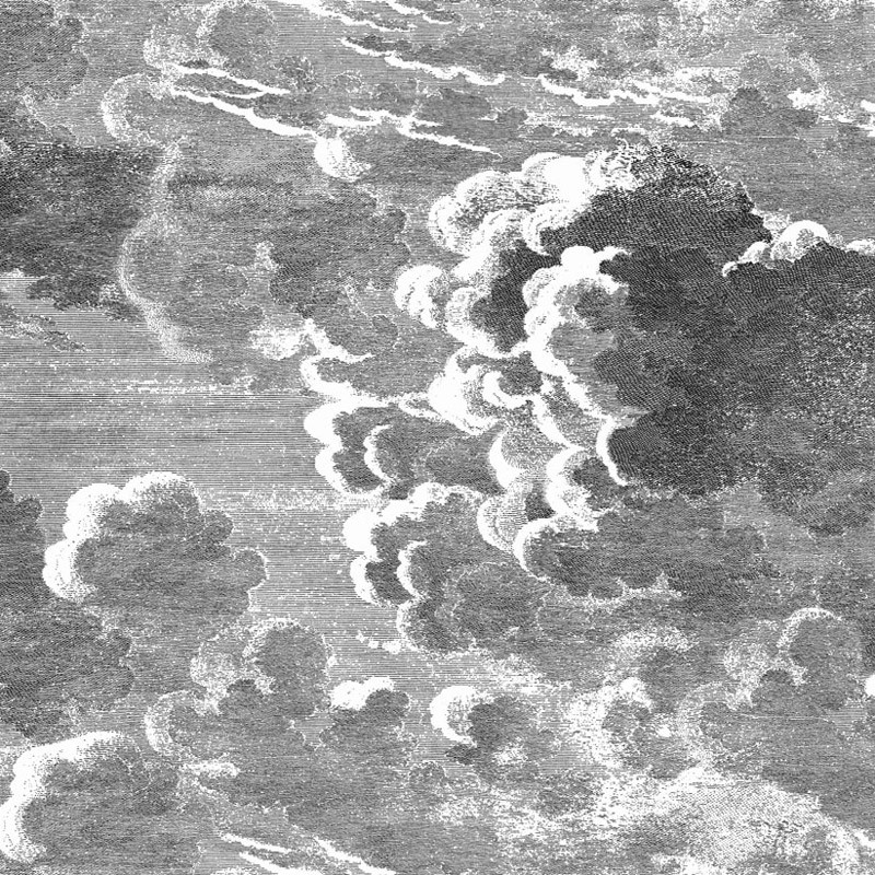 Papel pintado Cole & Son Fornasetti Senza Tempo Nuvolette 114-28054