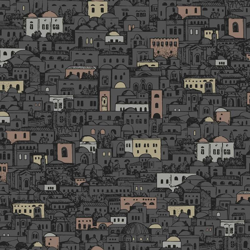 Papel pintado Cole & Son Fornasetti Senza Tempo Mediterranea 114-7014