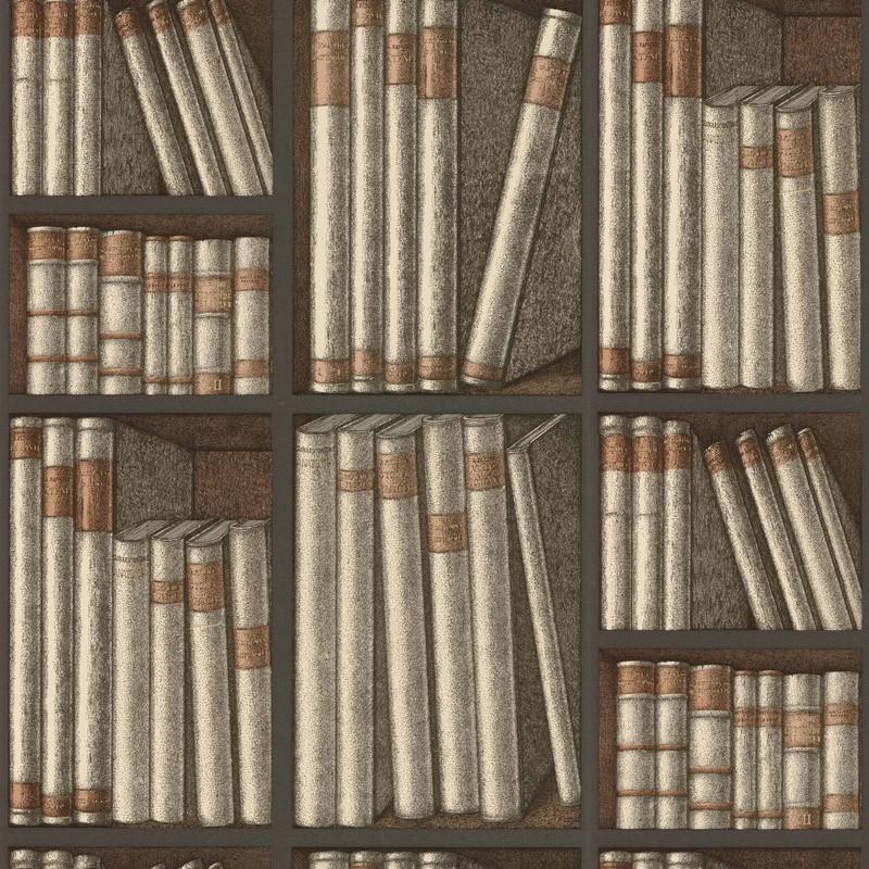 Papel pintado Cole & Son Fornasetti Senza Tempo Ex Libris 114-15030