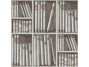 Papel pintado Cole & Son Fornasetti Senza Tempo Ex Libris 114-15029