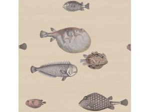 Papel pintado Cole & Son Fornasetti Senza Tempo Acquario 114-16033