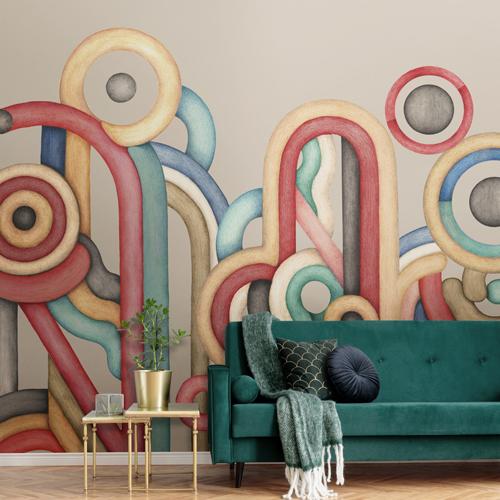 Mural decorativo Rubrica M3401-2 de Tres Tintas