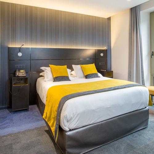 Vescom instalacion hotel Francia