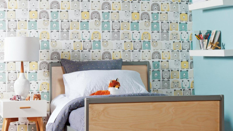 Papel pintado Baby + Kids Dwell Studio de York