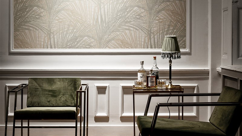 Papel pintado Interior Affairs de BN Wallcovering