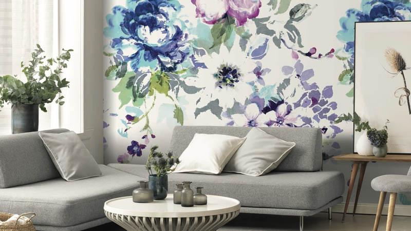 Murales vegetales y florales
