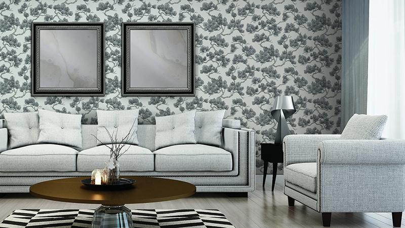 Papel pintado Wall Fabric de Kemen Wallcoverings