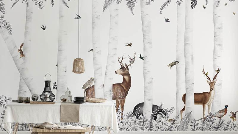 Murales decorativos Best of Les Dominotiers