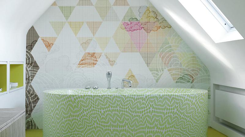 Murales decorativos Wet System 2013 de Wall&Decò