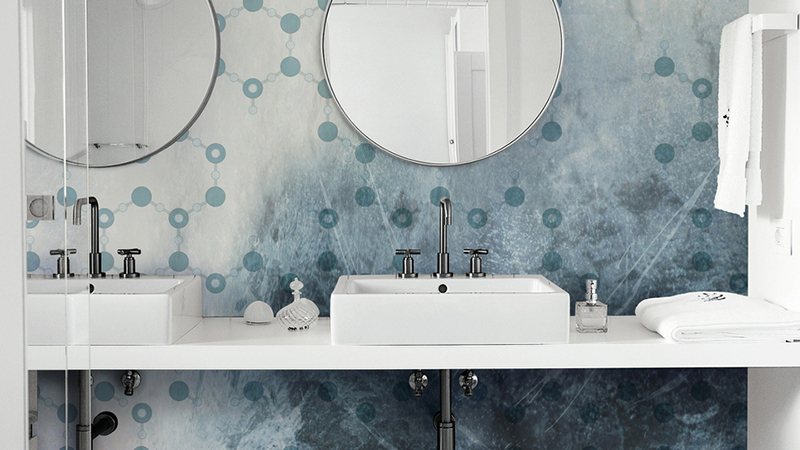 Murales decorativos Wet System 2016 de Wall&Decò