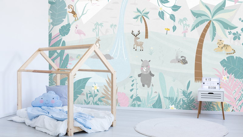Papel pintado #Smalltalk de BN Wallcovering