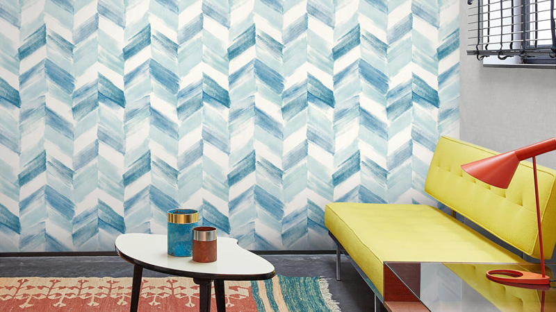 Papel pintado Geometric Space de Colowall