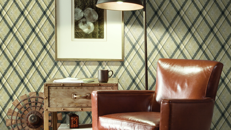 Papel pintado Tailored de York Wallcovering