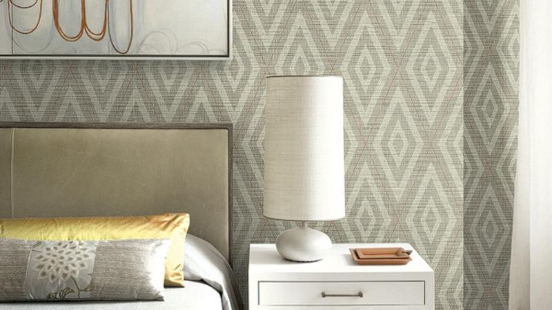 Papel pintado Textile Effects de Wallquest