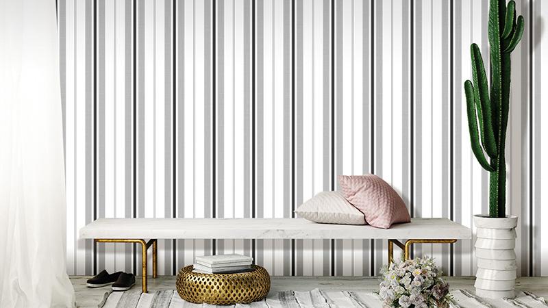 Papel pintado Stripes de Unipaper