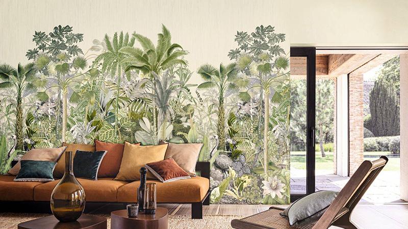 Murales decorativos Panoramas de Casamance