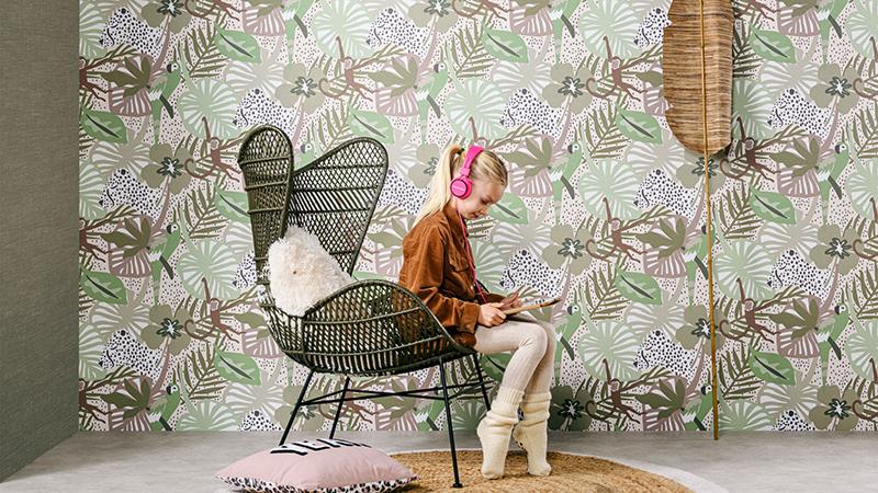Papel pintado infantil Yoohoo! de Maison Walls