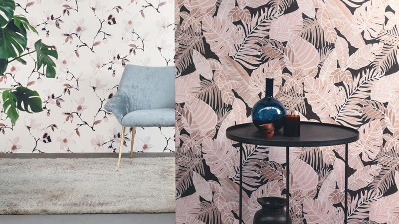 Papel pintado La Vie en Rose de Khroma Zoom
