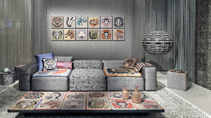 Papel pintado Wallcoverings 02 de Missoni Home