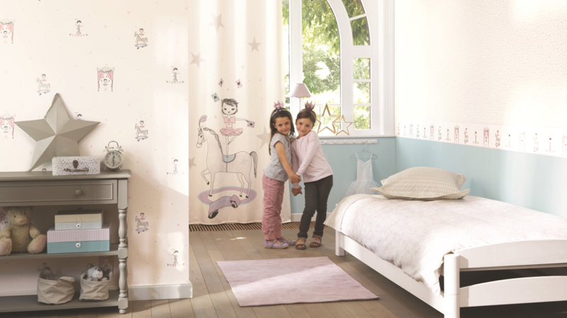 Papel pintado Alice & Paul de Casadeco
