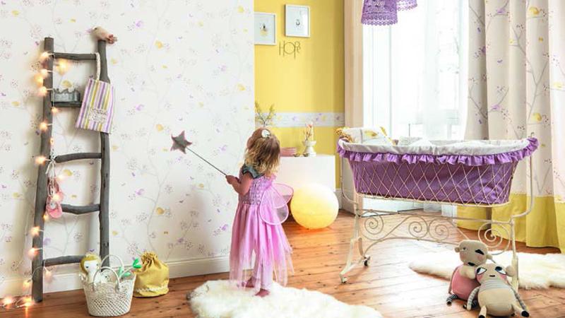 Papel pintado My Little World de Casadeco
