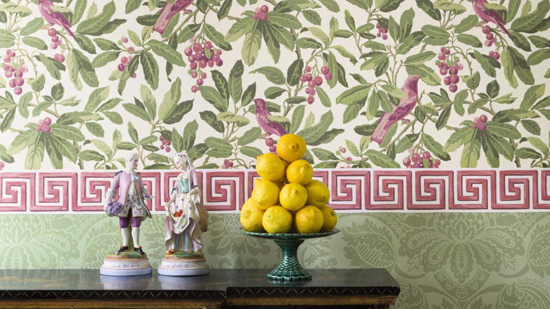 Papel pintado The Historic Royal Palaces de Cole & Son
