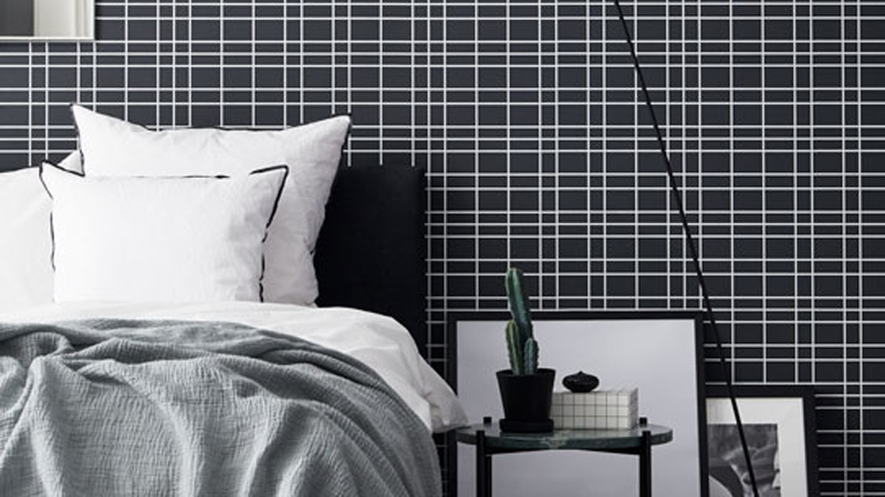 Papel pintado Black & White de eco