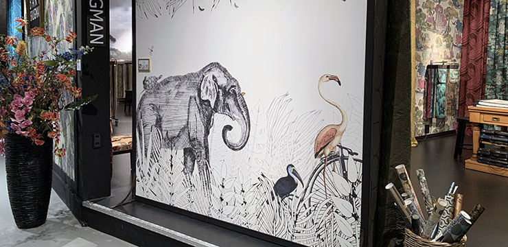 Murales decorativos Les Dominotiers