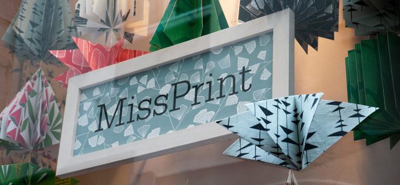 Papel pintado Missprint