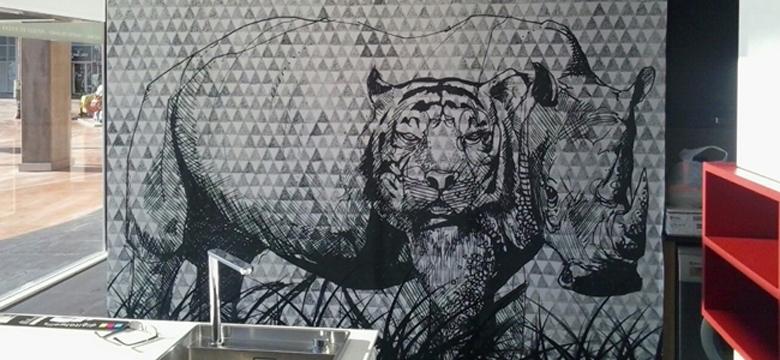 Murales y vinilos para paredes personaliza tus paredes for Murales pared baratos