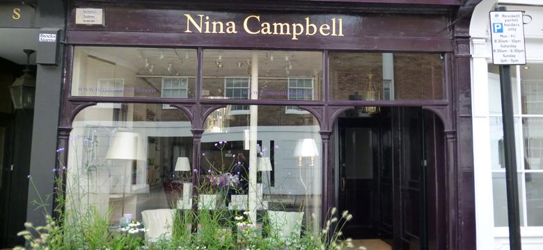 Papeles pintados Nina Campbell